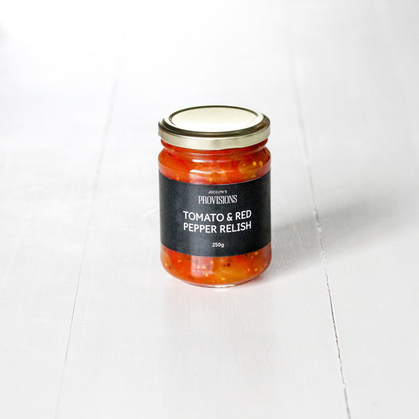 Tomato and Red Pepper Relish