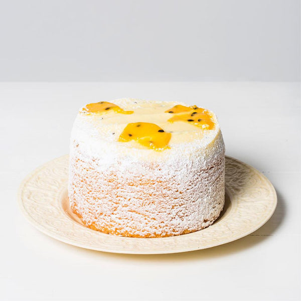 Butter Cake Passionfruit Large Round