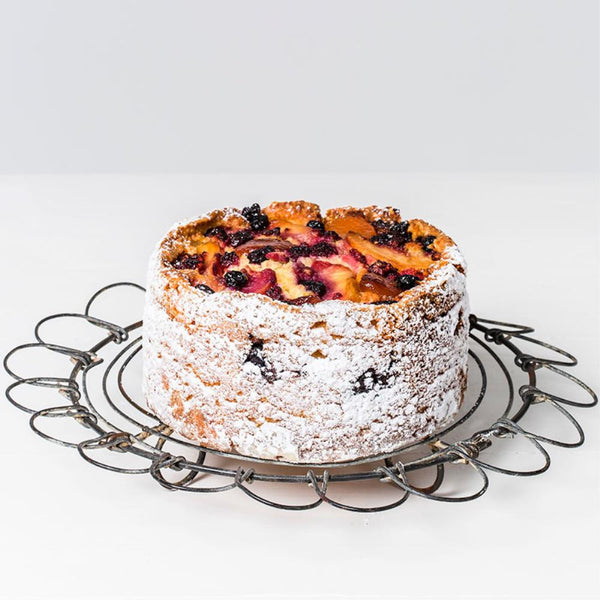 Poached Fruit and Ricotta Cake Large Round