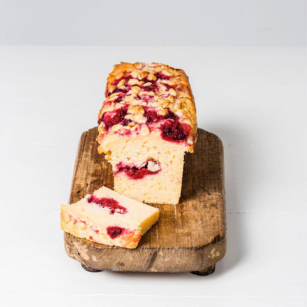 White Chocolate and Raspberry Cake Bar