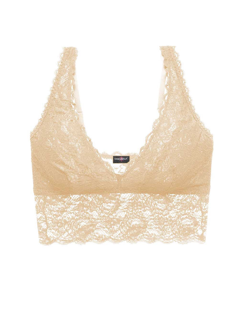 Never Say Never Plungie Longline Bralette