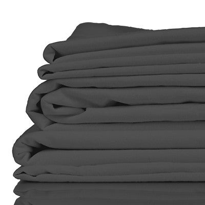 Bamboo Bed Sheet Set - Twill Charcoal