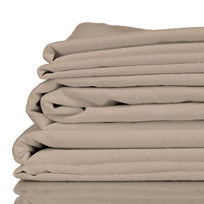 Bamboo Bed Sheet Set - Twill Simply Taupe