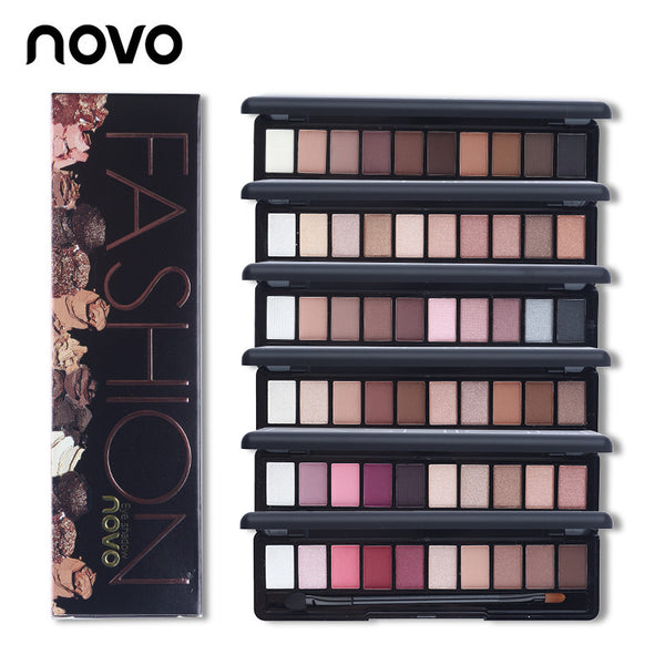 NOVO Matte Eye Shadow Palette - Lady Elise Beauty Store