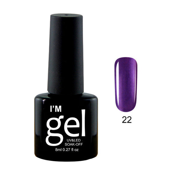 Gel Polish LED Soak Off- 31 Colors