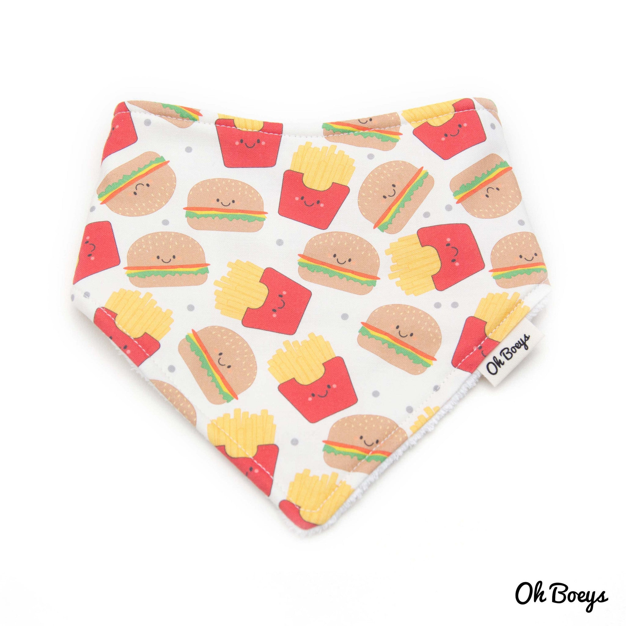 Fries & Burgers Bib
