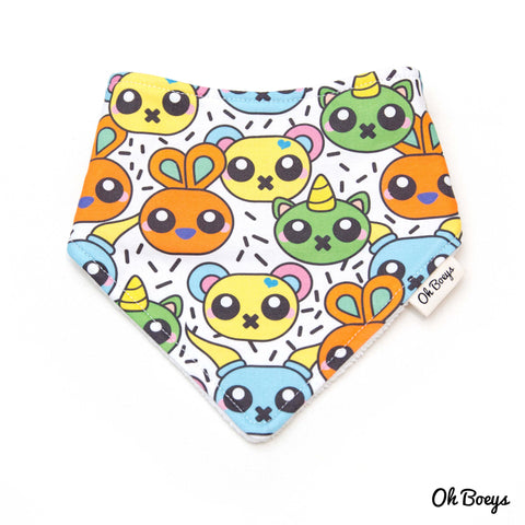 Kawaii Animal Bib