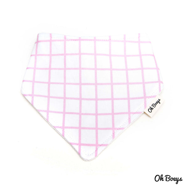 Pastel Colours Grid Bib