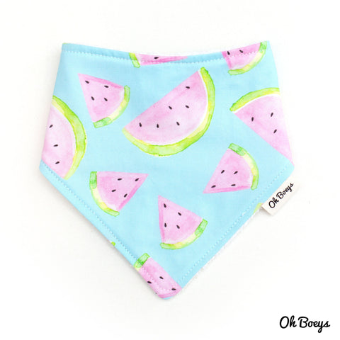 Watercolour Watermelon Bib