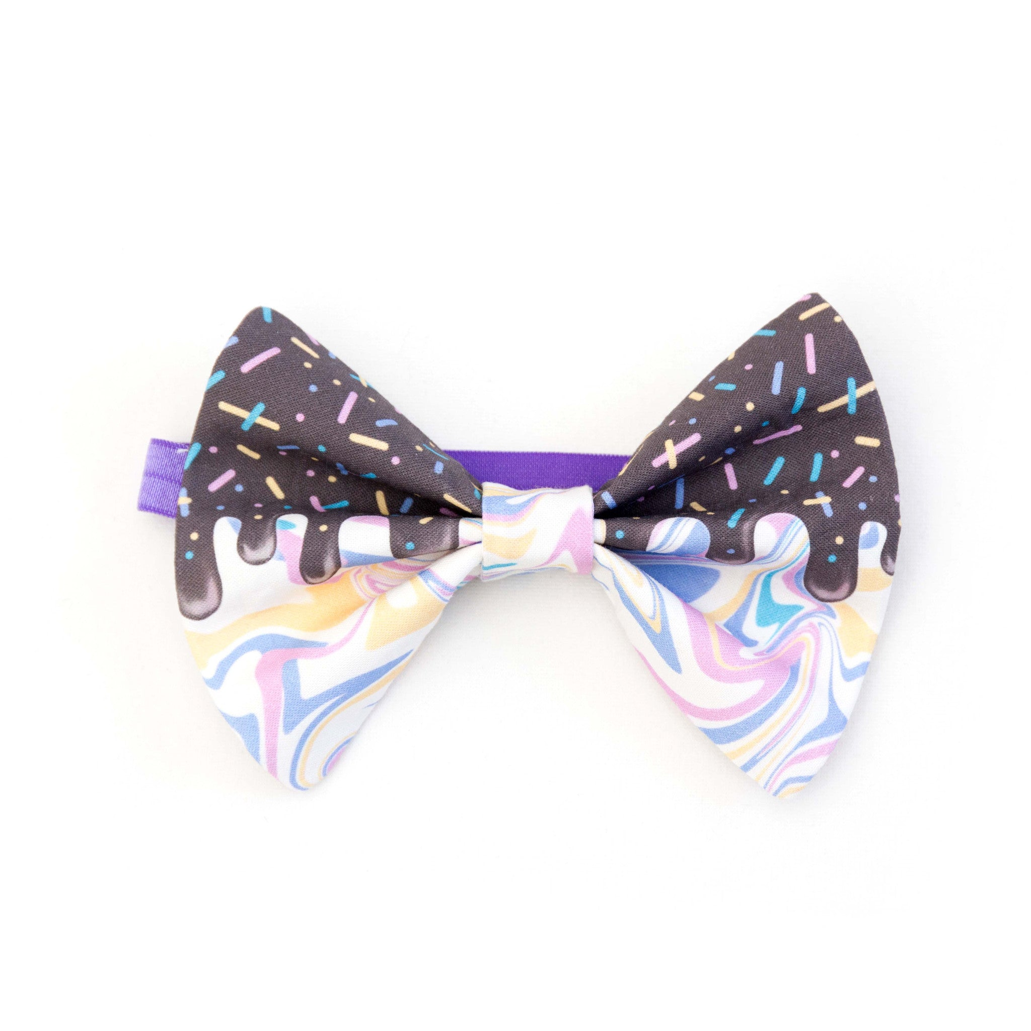 Bubblegum Swirl Hair Bow