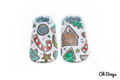 Christmas Shoes Collaboration with Chunky Monkeys