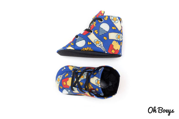 Circus Pop Lace Up Shoes