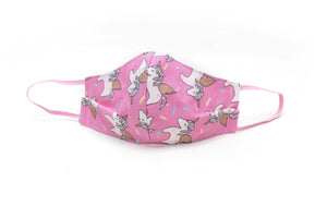 Child Face Mask - Pink Unicorn