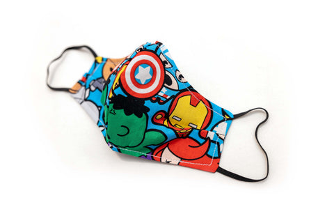 Adult/Child Face Mask - Avengers
