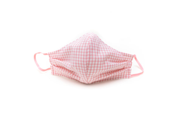 Face Mask - Pink Gingham
