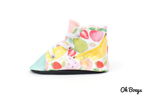Fruit Salad Lace Up Shoes