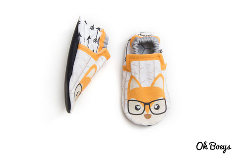 Hipster Fox Shoes