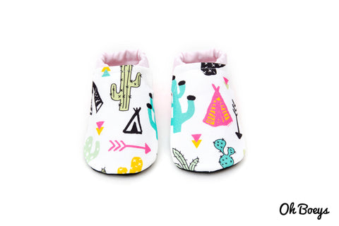 Cactus & Teepee Shoes