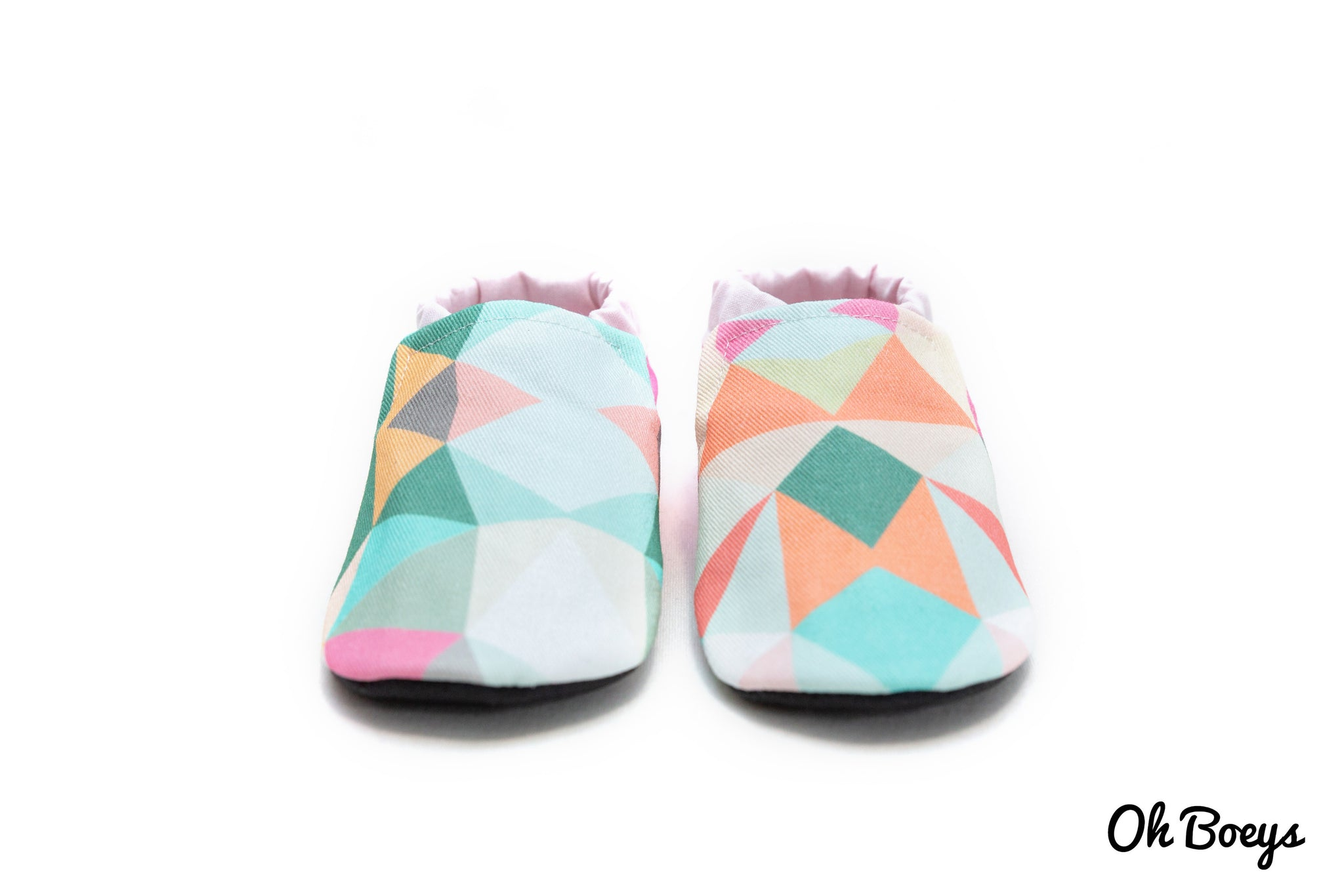 Pink Geometry Shoes