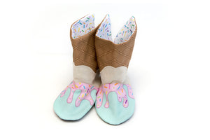 Strawberry Ice Cream Boots