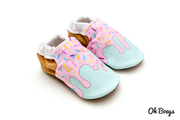 Strawberry Ice Cream Shoes