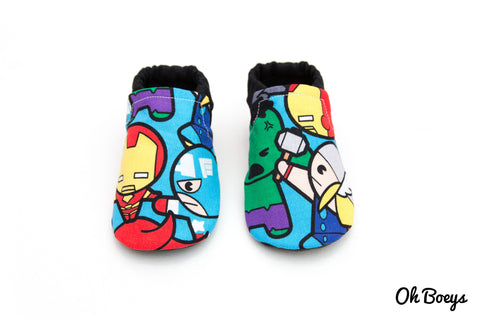 Marvel Superheroes Shoes *LIMITED STOCK*