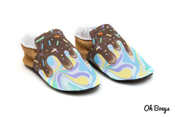 Tropical Swirl Shoes