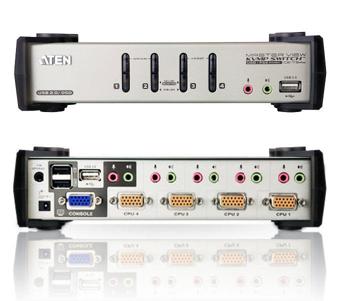 4-port KVM Switch