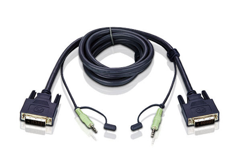 1.8M DVI-D Single-Link KVM Cable - 2L-7D02V