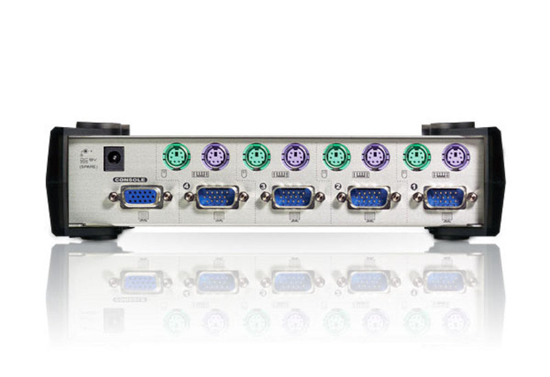 4-Port PS/2 VGA KVM Switch - CS84A