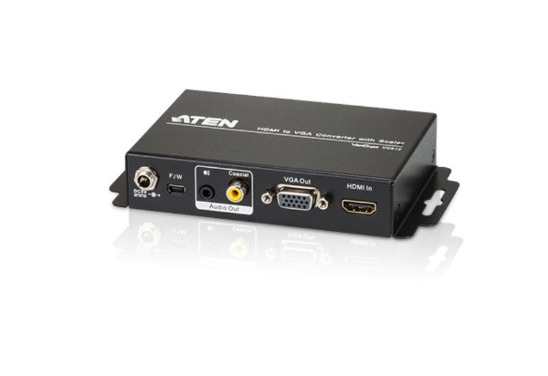 HDMI to VGA/Audio Converter with Scaler - VC812