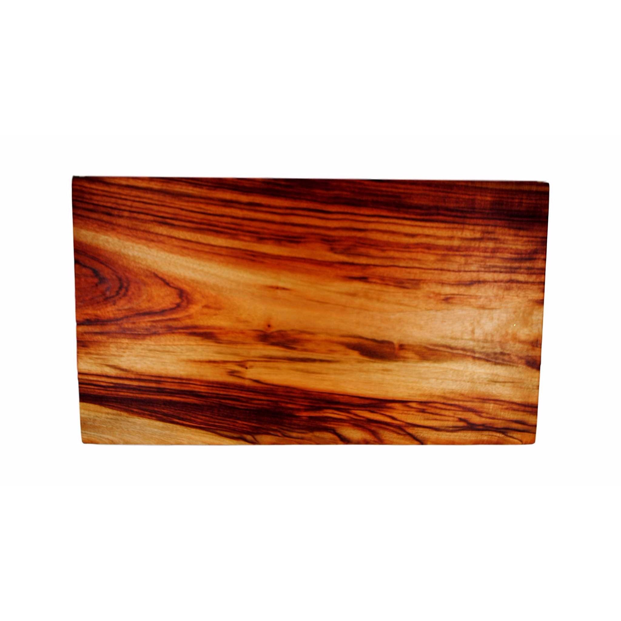 large wooden cutting board dark light chopping camphor slab