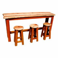Camphor Top Bar & Stools
