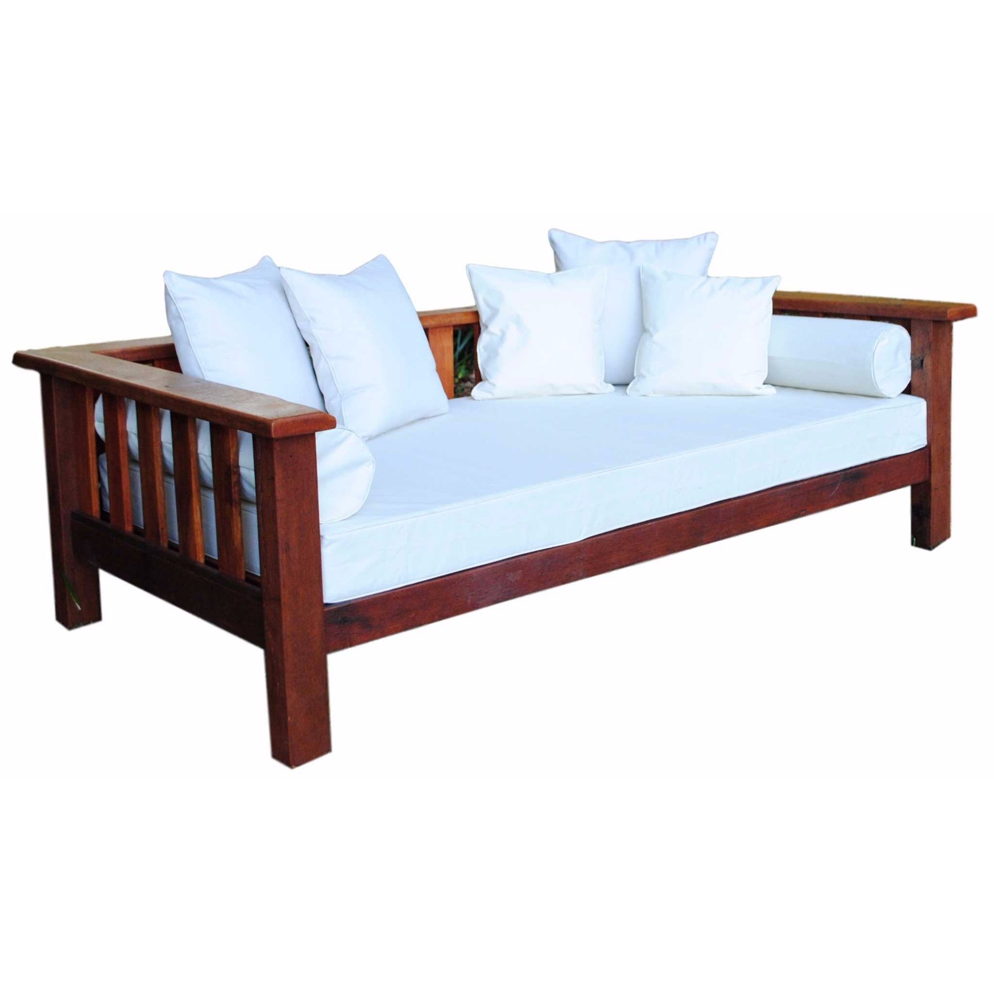 classic recycled hardwood daybed byron channon market uki indoor or outdoor cotton canvas covers shipping australis wide