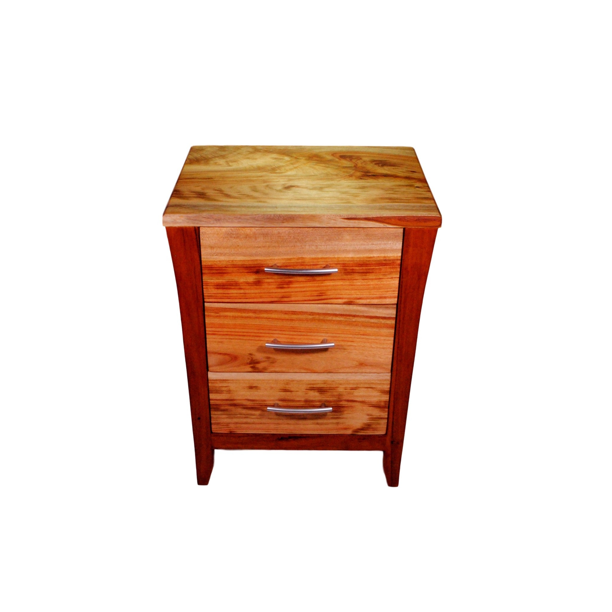 3 drawer recycled hardwood eco-friendly