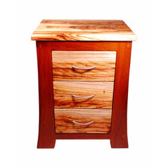 timber dresser nightstand drawers