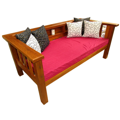 Wooden outdoor daybed Diy Platform Bookshelf Classic Illusive Wood Designs Custom Recycled Timber Furniture Chopping Board Timber Daybeds Bespoke Recycled Hardwood Joinery Delivered To