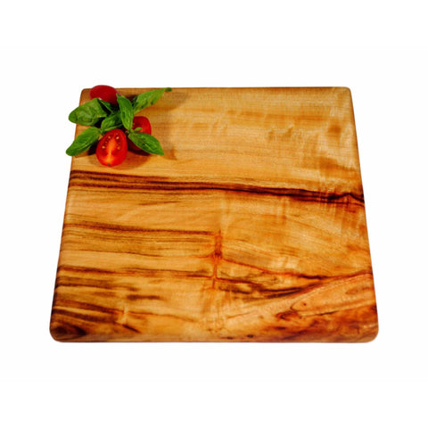 square wooden chopping board small