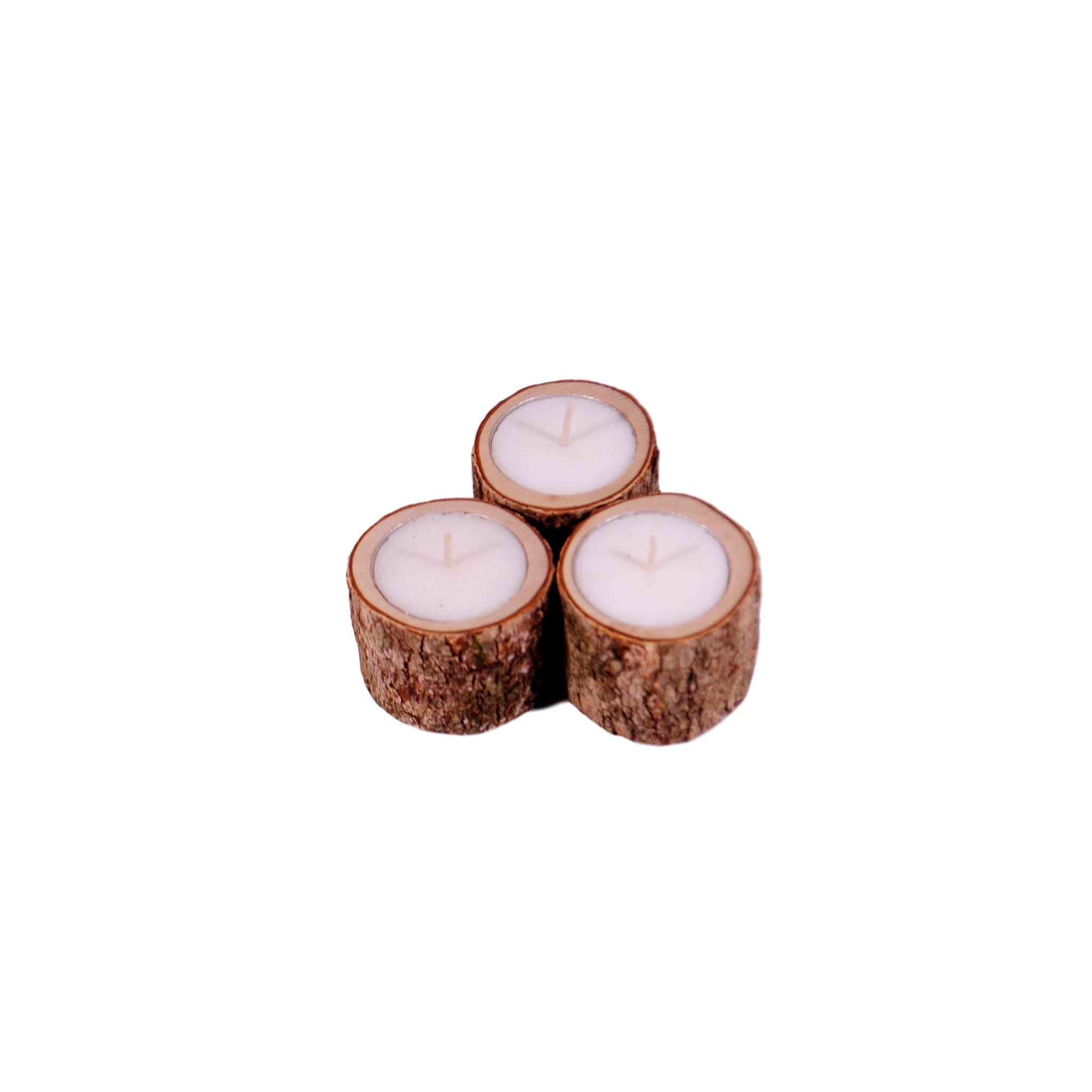 Tree Candles - set of 3