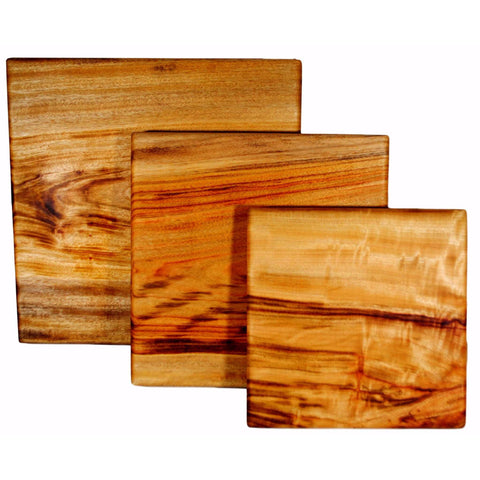 Large or small square chopping board