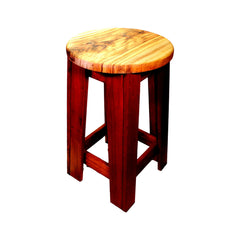 Round Contrasting Stool