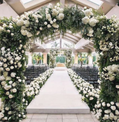 FLORAL ARCHES FOR ALL OCCASIONS
