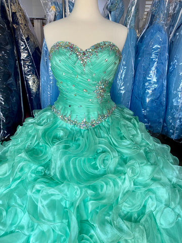 Size 6 Disney Royal Ball dress in Mint