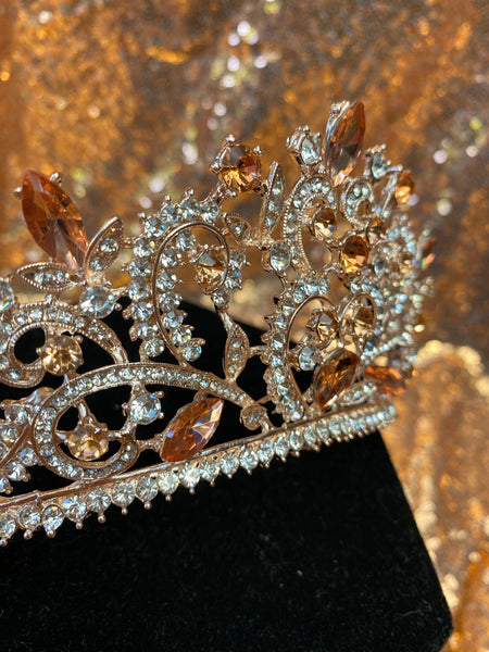 Gold & Rose Gold crown