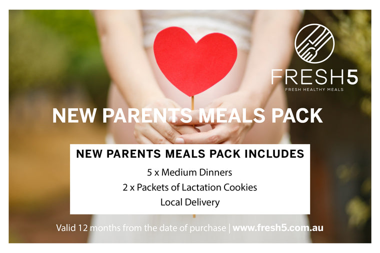 New Parents Meal Pack Gift