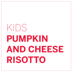 Pumpkin and Cheese Risotto