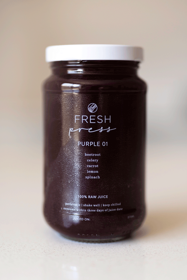 Purple 01 Cold Press Juice - Fresh Press