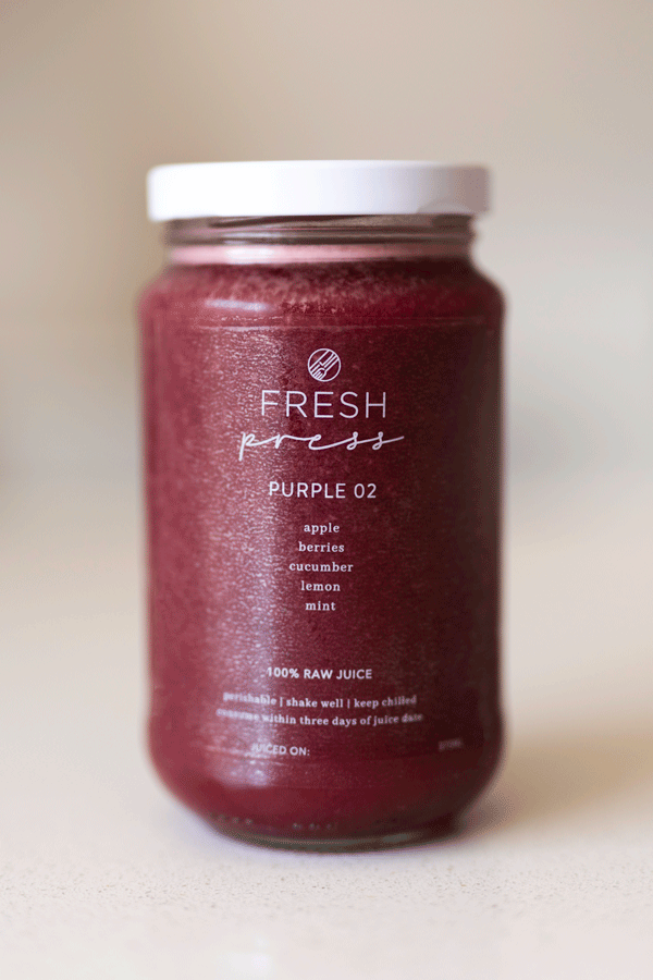 Purple 02 Cold Press Juice - Fresh Press
