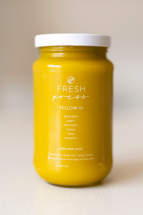 Yellow 01 Cold Press Juice - Fresh Press