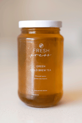 Green Cold Brew Tea - Fresh Press
